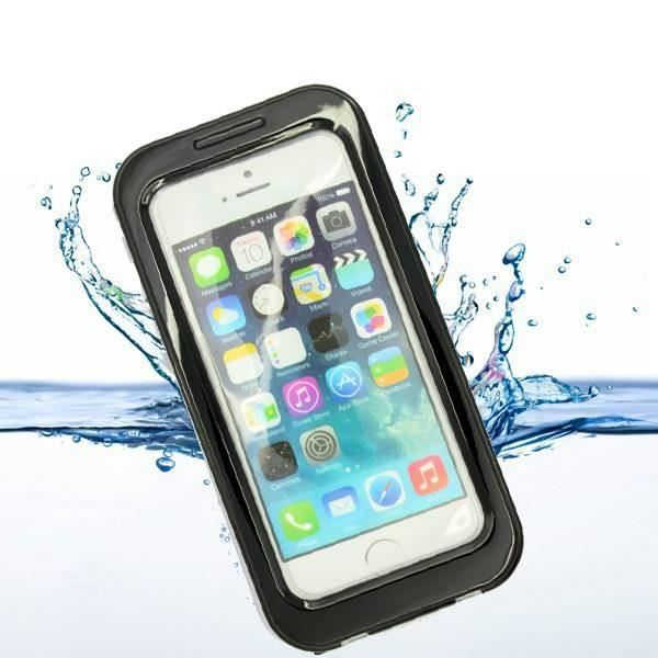 coque iphone 5s waterproof noir achat coque bumper. Black Bedroom Furniture Sets. Home Design Ideas