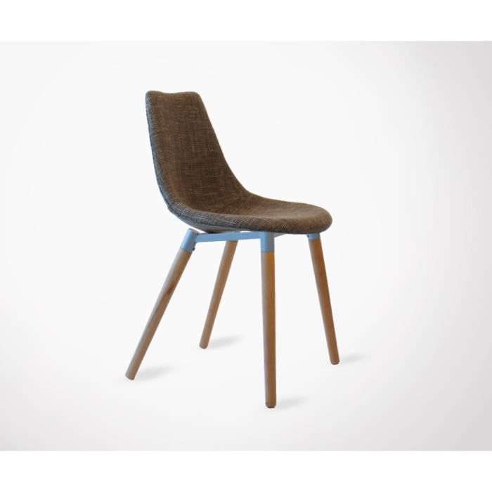 CHAISE Chaise Design Esprit Scandinave LILY