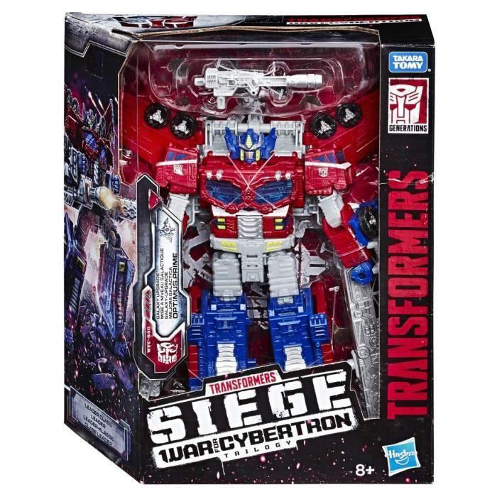 Transformers Generations SIEGE GUERRE de Cybertron Optimus Prime Neuf