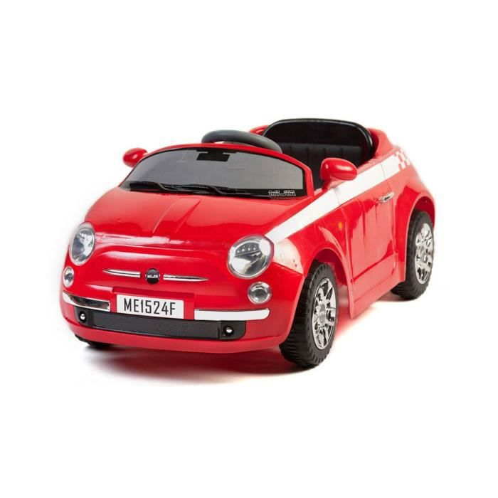 6v voiture lectrique pour enfant style fiat 500 achat. Black Bedroom Furniture Sets. Home Design Ideas