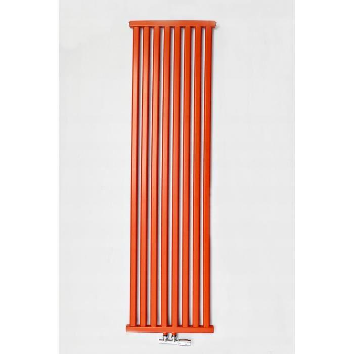 60 cm CHAUFFAGE CENTRAL 1031W GARANTIE 10 ANS RADIATEUR EN ACIER AVEC PURGEUR ET BOUCHON EAU CHAUDE T22 H 60 x L