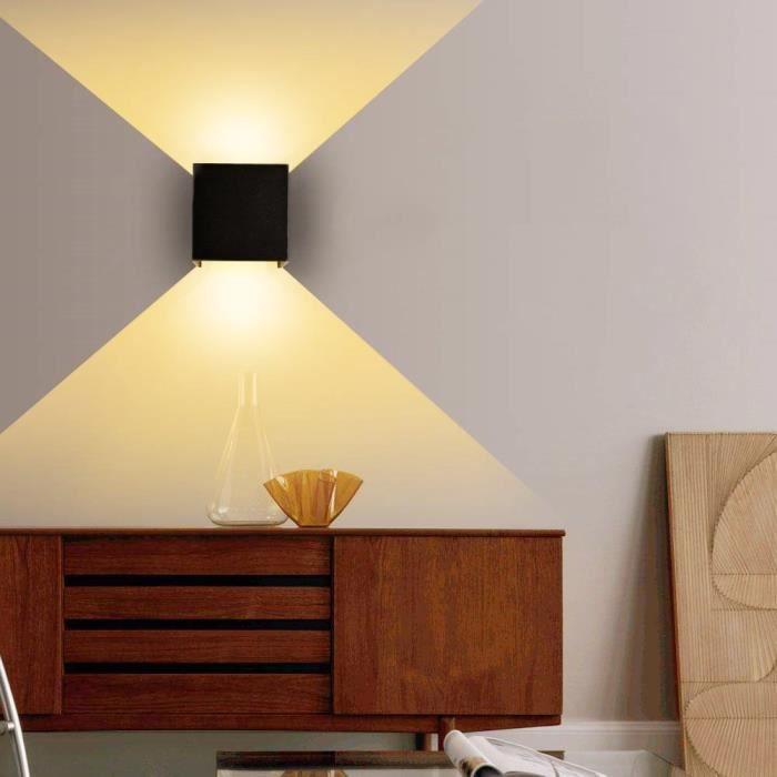 Moderne Applique Murale Interieur Lampe Murale Led Reglable Lampe Appliques Murales Pour Salon Chambre Blanc Chaud