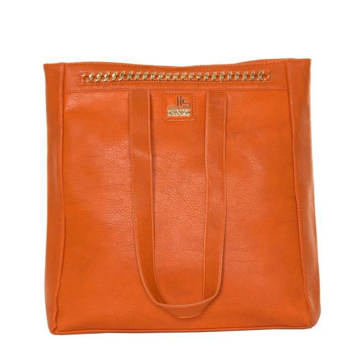 Jean cabas Orange Scherrer Louis Sac qnAaw8xP