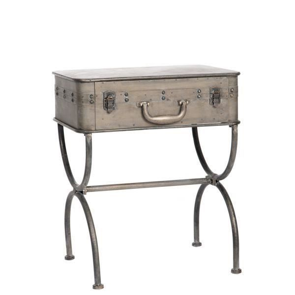 Table d 39 appoint valise virgo argent achat vente - Table d appoint console ...