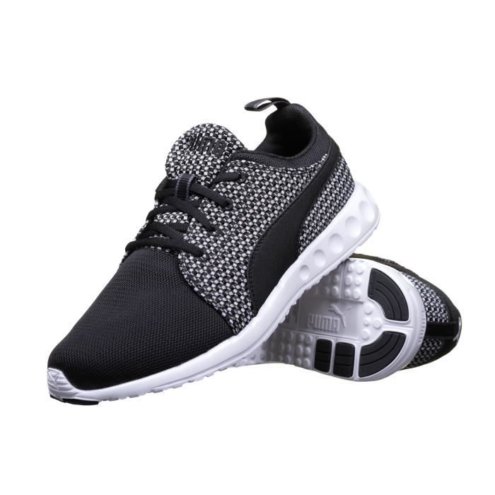 new style d7911 2f221 BASKET Chaussure Puma Carson Runner Knit 188150 Noir