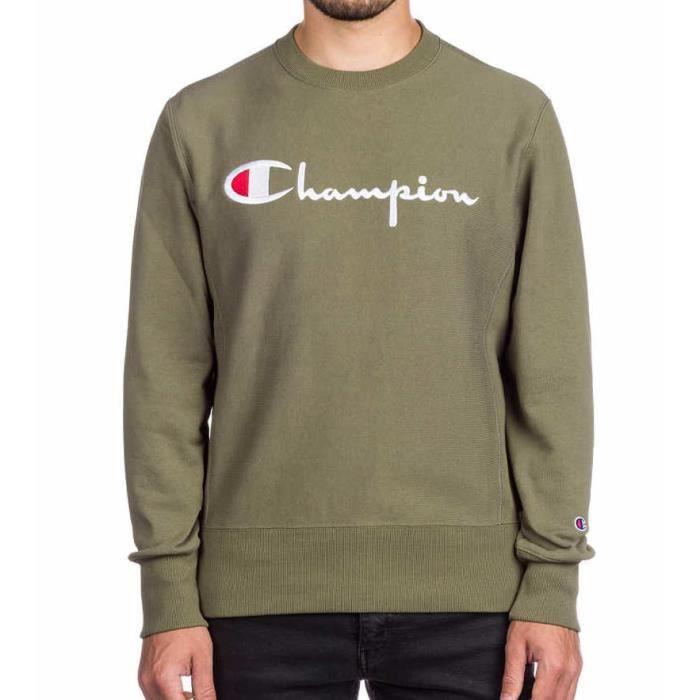 Produit économique homme CREWNECK Sweatshirt Champion dark
