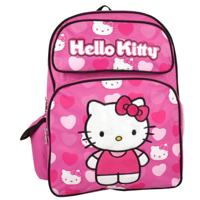 "SAC À DOS Sanrio Bonjour Kitty Grand 16"" Sac à dos C4EUV"