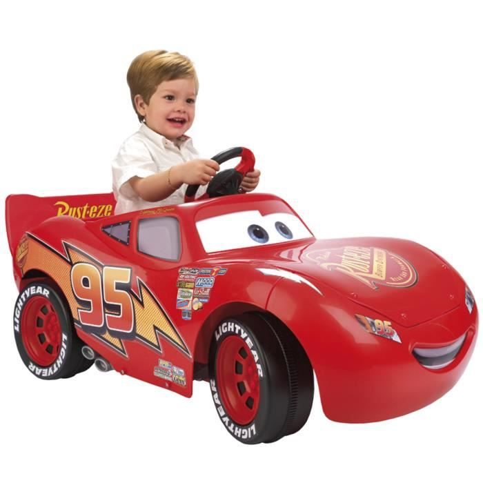 voiture cars ii lightning mcqueen ride on 6 v feber achat vente moto scooter cdiscount. Black Bedroom Furniture Sets. Home Design Ideas
