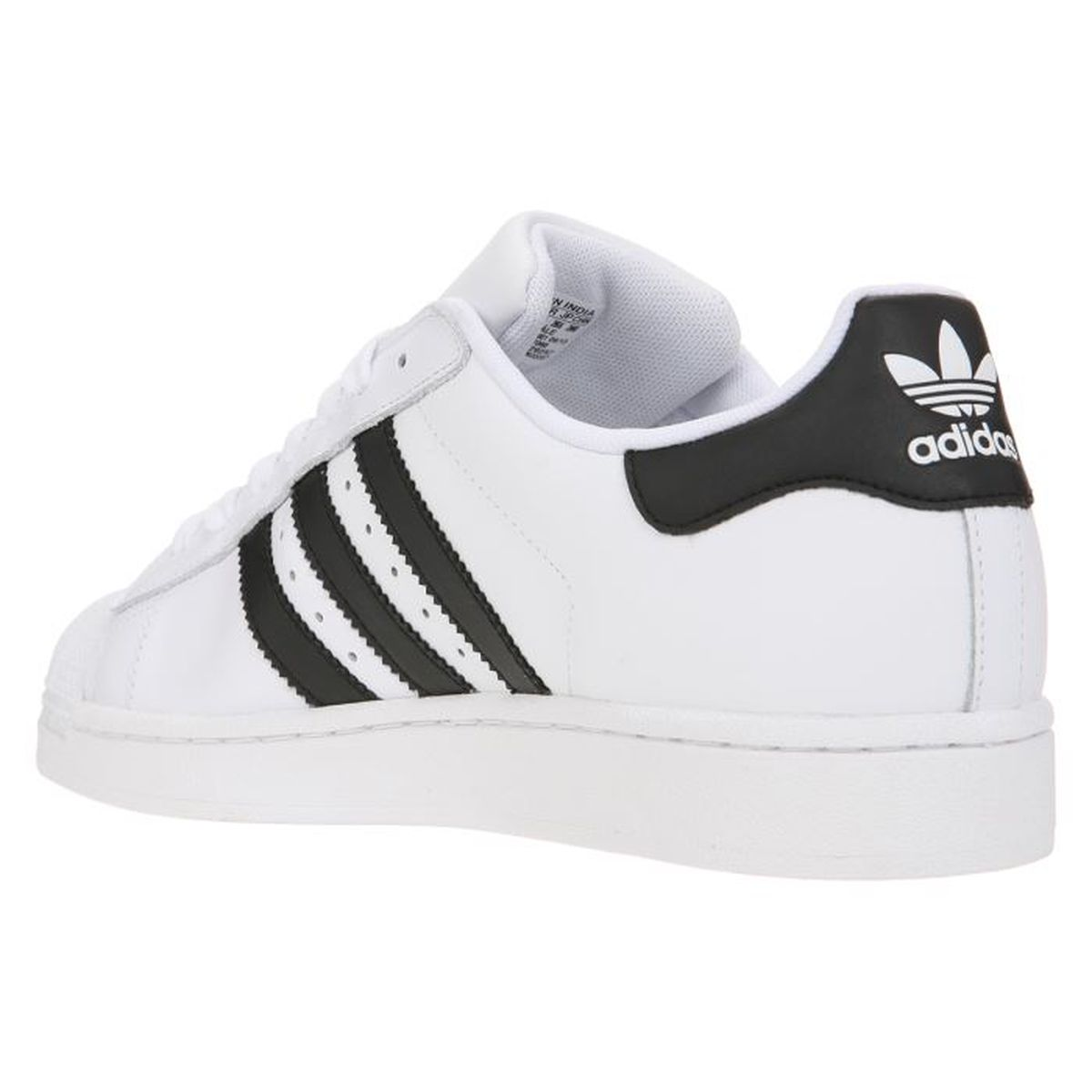 ADIDAS Baskets Superstar II U Homme Blanc