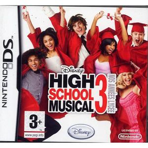 JEU DS - DSI HIGH SCHOOL MUSICAL 3 / JEU CONSOLE NINTENDO DS