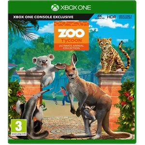 JEU XBOX ONE Zoo Tycoon Jeu Xbox One
