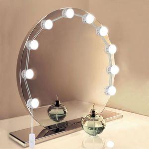 AMPOULE - LED Hollywood Kit de Lumières de Miroir USB Powered 10