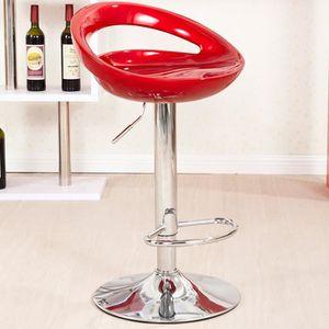 TABOURET DE BAR Lot de 2 Tabouret de Bar réglage en Hauteur chaise