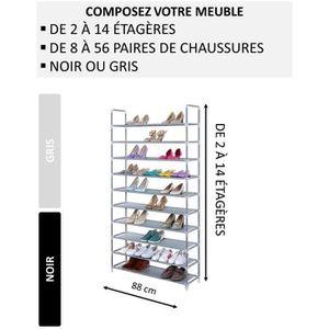 MEUBLE À CHAUSSURES NALIAN Etagère - Meuble à chaussures modulable de