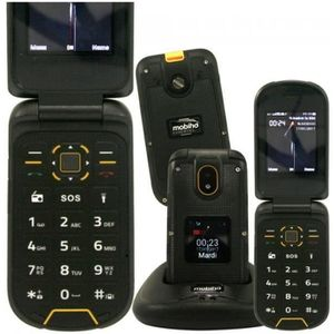 Téléphone portable Le CLAP BAROUDEUR,Telephone portable senior 3G, an