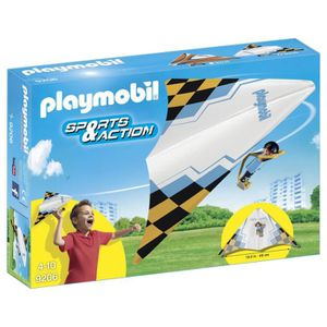 UNIVERS MINIATURE PLAYMOBIL 9206 - Sports & Action - Deltaplane Jaun