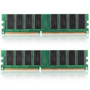 MÉMOIRE RAM 2PCS 1 GO GB Mémoire RAM DDR1 333MHZ PC2700 184PIN