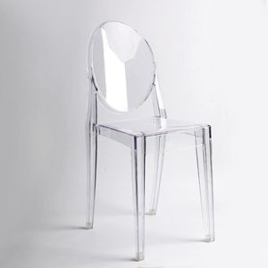 CHAISE Master Lot de 6 chaises Blanche Bureau Cuisine Sal