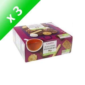 BISCUITS DIÉTÉTIQUES [LOT DE 3] Biscuits Assortiment petits fours pâtis