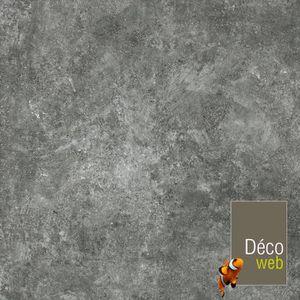 SOLS PVC 4 x 4m - Sol PVC Best - motif Granit Noir Argenté