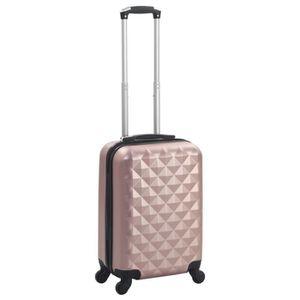 VALISE - BAGAGE Valise rigide Doré rose ABS-6