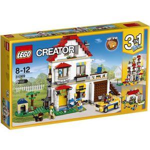ASSEMBLAGE CONSTRUCTION LEGO® Creator 31069 La Maison familiale