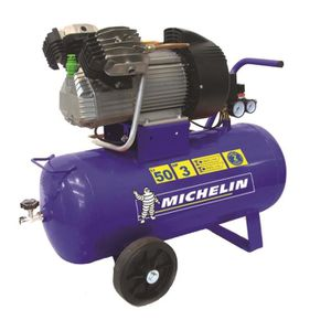 COMPRESSEUR AUTO MICHELIN Compresseur 50 L - Gros debit d'air