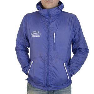 Imperméable - Trench Veste Japan Rags Coupe Vent Bleue Pour Hommes