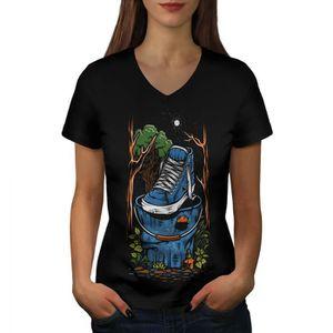 T-SHIRT Forêt la pollution Women  T-shirt à sonnerie | Wel