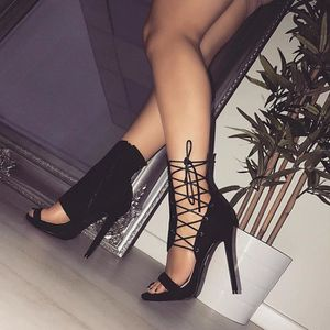 SANDALE - NU-PIEDS Roman Buckle Strap Chaussures Femmes Sandales Sexy