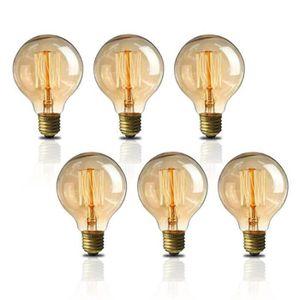 AMPOULE - LED NEUFU 6 pcs Ampoules LED - E27 40W G80 - Ampoule à