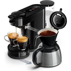MACHINE À CAFÉ PHILIPS HD6592/61 Machine à café à dosette ou filt