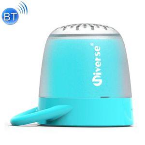 ENCEINTE NOMADE Mini enceinte Bluetooth bleu Universe Portable Hau