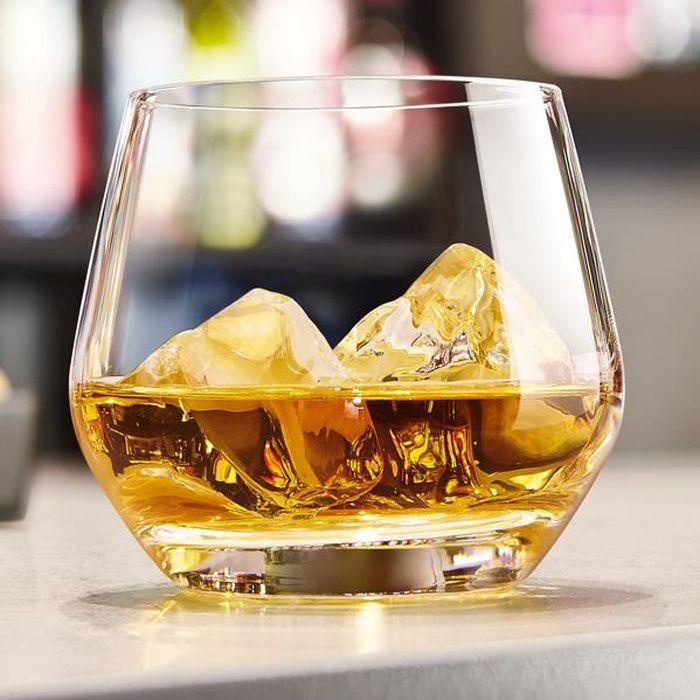 6 verres à eau 35cl Lima - Chef&Sommelier - Cristallin design moderne ultra transparent