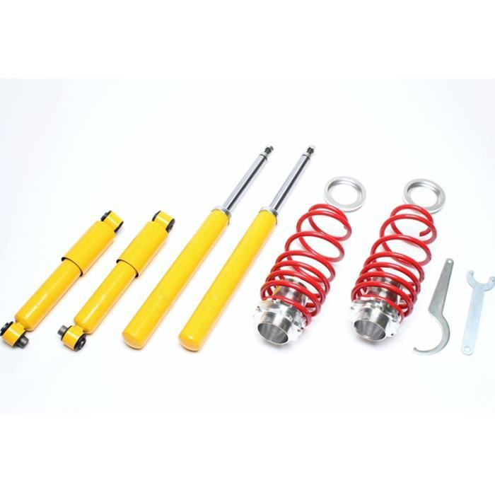 KIT SUSPENSION COMBINE FILETÉ CITROEN SAXO TYPE S DE 04/1996 A 2003