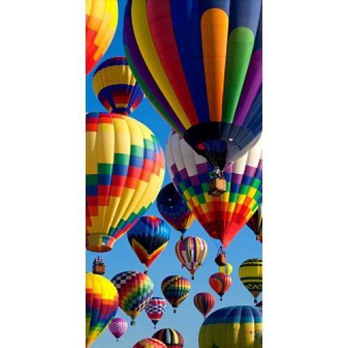 Papier peint finition satiné pré-encollé -Balade en montgolfière- 137