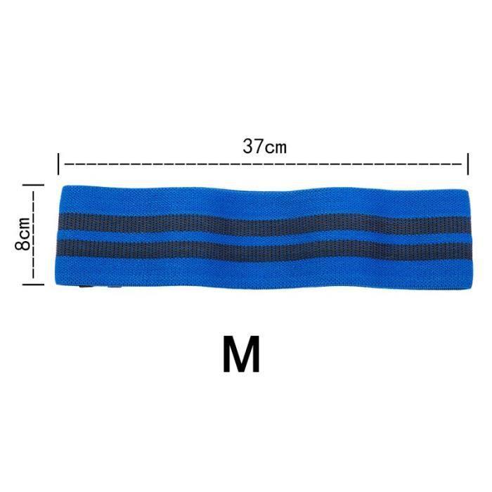 3 couleurs Yoga résistance hanche-cou bande élastique Squat résistance bande Yoga Fitness entraînement - Modèle: M - HSJSTLDC03703