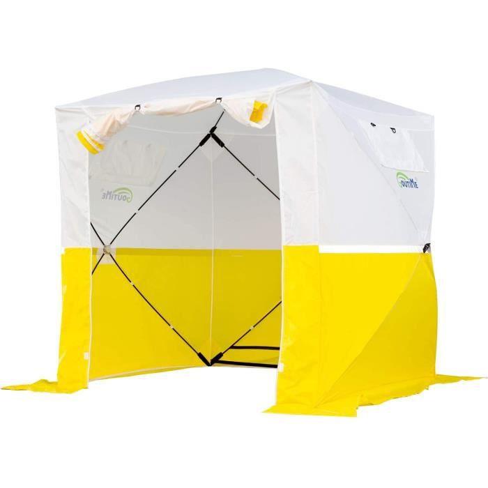Goutime Tentes instantanées,2x2m Imperméable Barnum Pliant de Camping,Multifonction Tentes D'ActivitéS