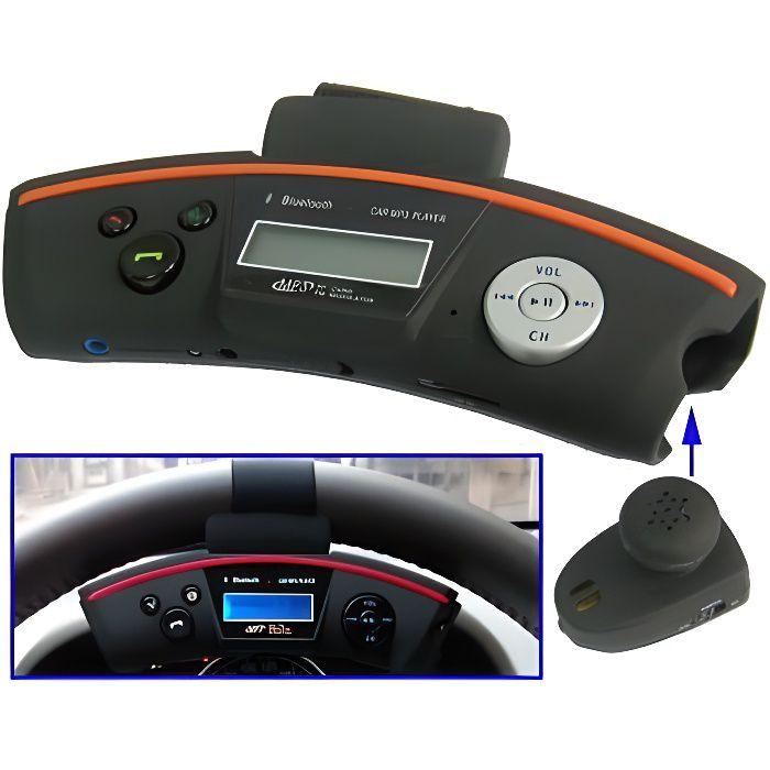 Kit mains-libres Volant voiture avec Transmette…