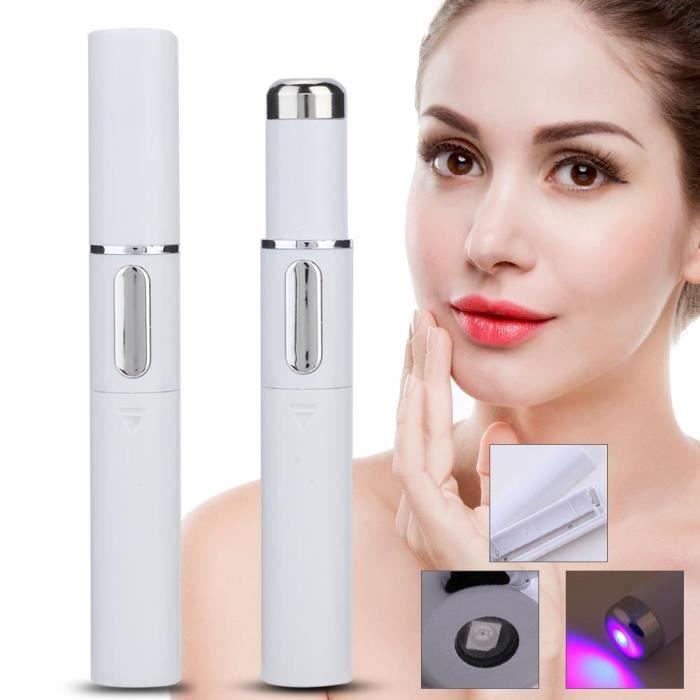 Stylo anti-acné Blue-Ray portable éliminer les marques d'acné machine de beauté enlevant taches de rousseur