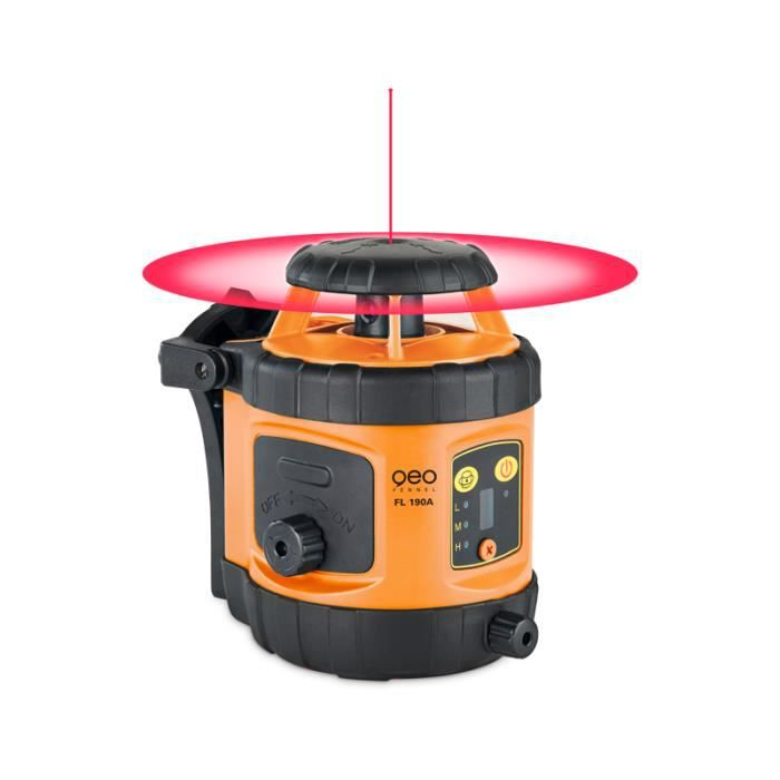 Pack laser rotatif FL 190A + BT + TN 14