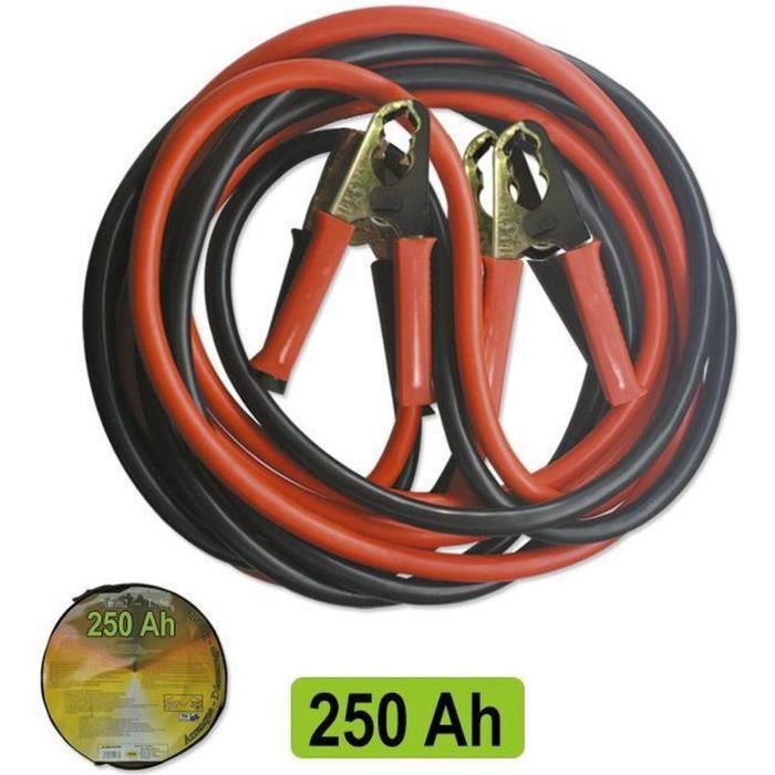 JBM Câbles de Démarrage 25 mmx2 2,5 Mètres