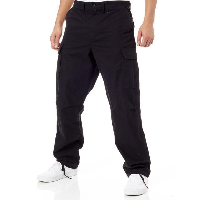 Pantalon treillis Vans Depot Noir
