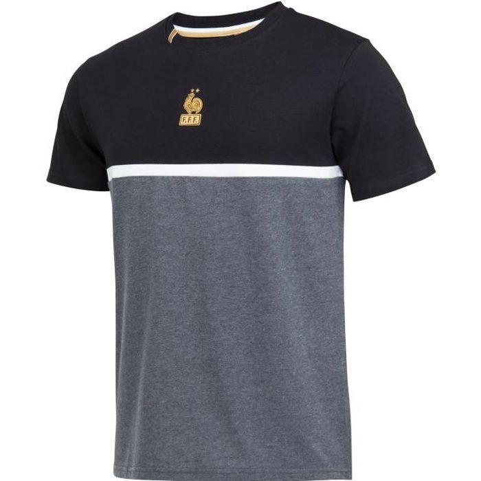 T-shirt FFF - Collection officielle EQUIPE DE FRANCE - Homme - Gris