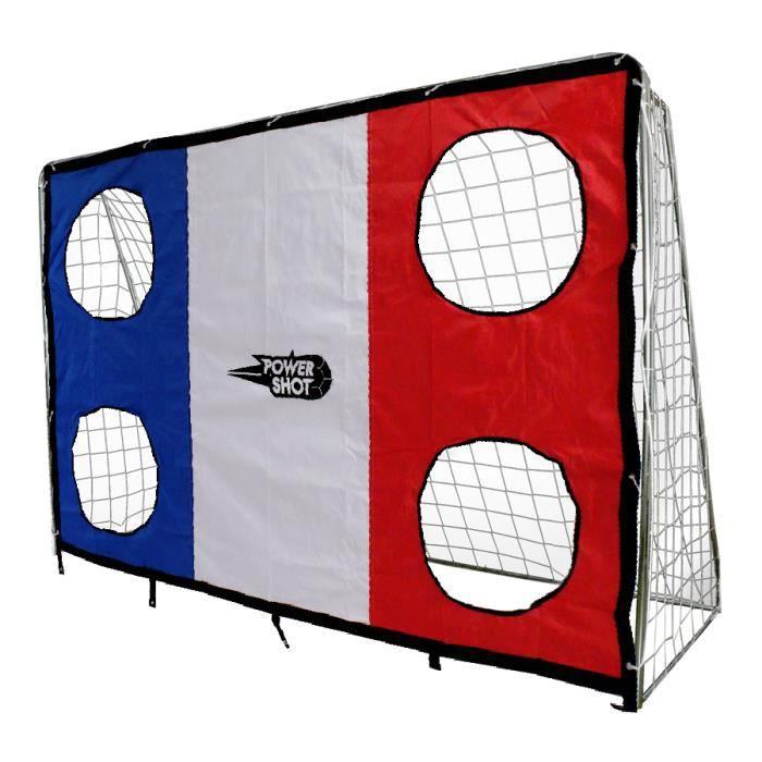 But de foot 3 m x 2 m en acier – Avec mur de tir France !