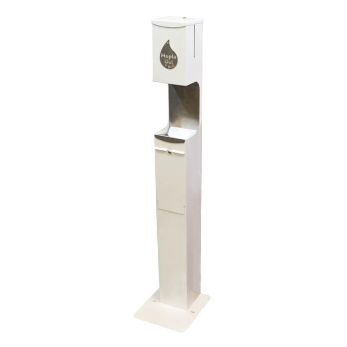 Distributeur automatique de gel sans contact HOPLA GEL MATIC - Blanc - Protection Equipement