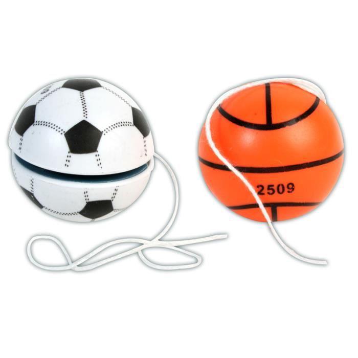 Yoyos ballons de foot (x6)