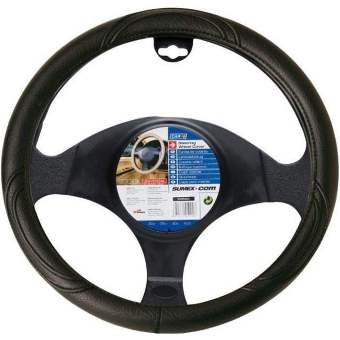 couvre volant PVC noir bmw e36 e46 e90 - diamètre volant 37/39cm -