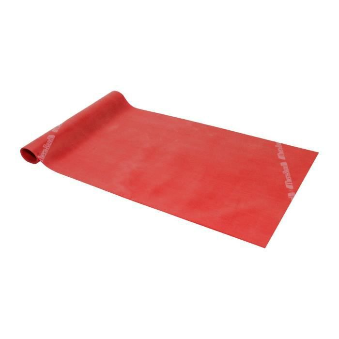 Thera-Band® 2,5m de bande de gymnastique rouge moyennement forte à l'arrière