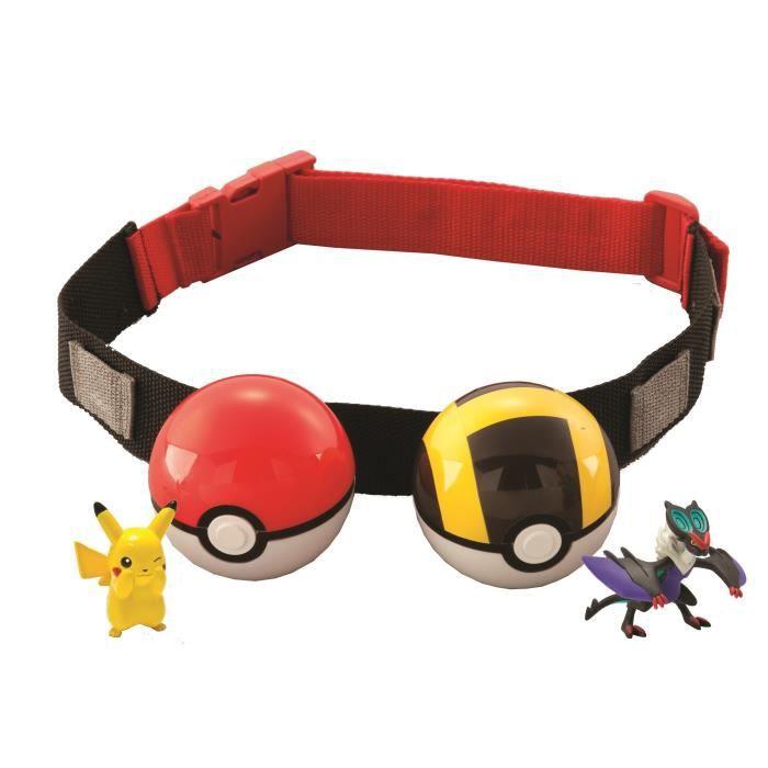 POKEMON Ceinture de Poké Ball dresseur Pokémon